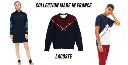 Découvrez la Collection Made in France Lacoste !