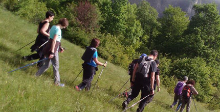 """Nordic walking - Discovery of reflexology"" hike"