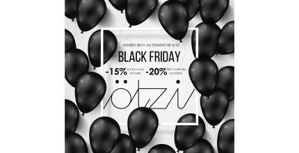 BLACK FRIDAY en boutique !