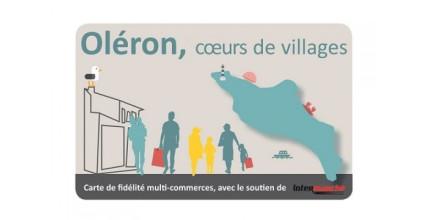Pensez à utiliser votre carte Oléron Cœurs de Villages !