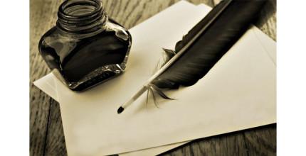 La plume de l'écrivain, à la Librairie des Pertuis