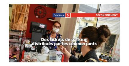 Bénéficiez du parking offert pour vos achats en centre-ville !