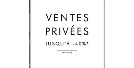 Profitez des ventes privées !