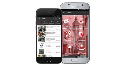"""Téléchargez l'application mobile """"AllinSmart"""" et soyez informé des meilleures offres !"""