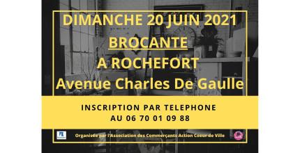 BROCANTE AVENUE CHARLES DE GAULLE : Inscrivez-vous !