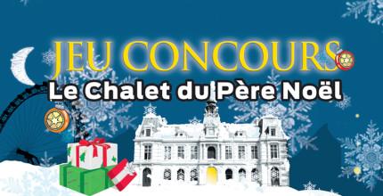 """Participez au Jeu concours """"Le Chalet du Père Noël"""""""