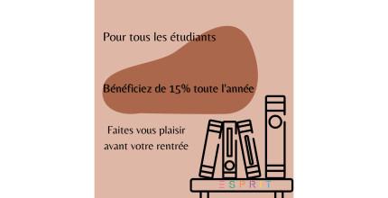 Belle offre étudiante dans votre boutique !