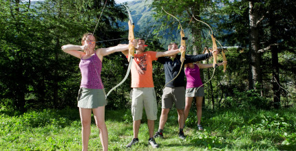 Discovery of archery in Valfréjus