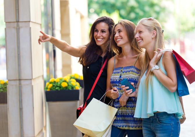 Shopping entre filles