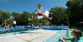 Tremplin sports acrobatiques